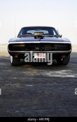 1970 DODGE CHARGER FAST & FURIOUS; THE FAST AND THE FURIOUS 4 - Stock Photo