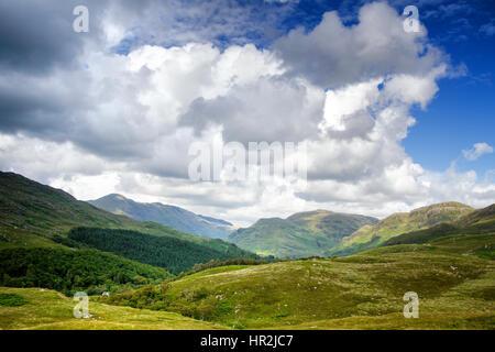 Lochailort view. Scottish Highlands, western Scotland. - Stock Photo