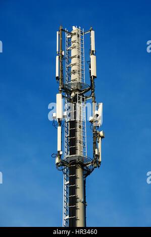 radio tower for digital communication - Stock Photo