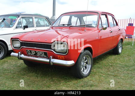 A Ford Escort Mk1 Stock Photo Royalty Free Image