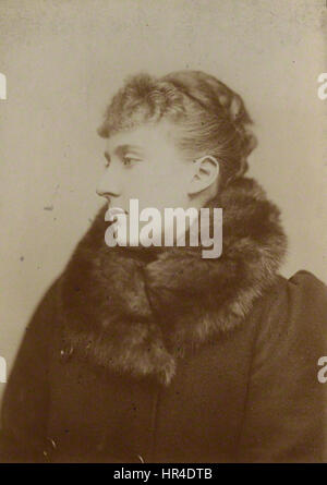 Princess Marie Louise of Schleswig-Holstein - Stock Photo