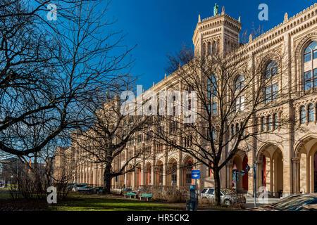 Regierung von Oberbayern, München, Germany - Stock Photo