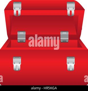 red box tools open icon - Stock Photo