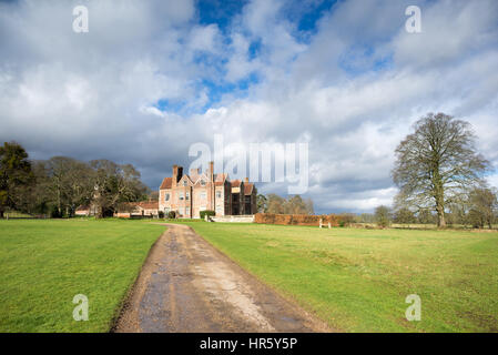 Breamore House Elizabethan Manor House, Breamore, Fordingbridge, Hampshire, UK - Stock Photo