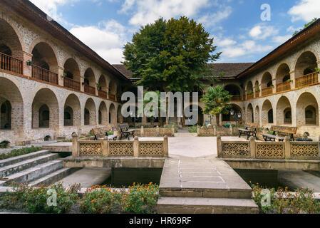 New 19th Century Caravanserai Sheki Azerbaijan  Stock Image