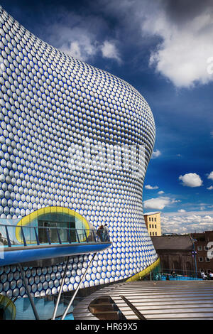The iconic selfridges building in birmingham city centre covered in the iconic selfridges building in birmingham city centre uk stock photo malvernweather Image collections