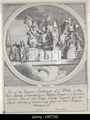 William Hogarth - Royalty, Episcopacy and Law - Stock Photo