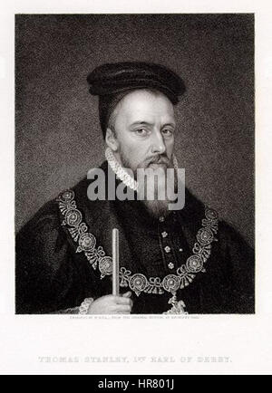 Thomas-Stanley-1st-Earl-of-Derby - Stock Photo