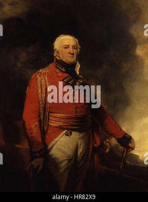 William Popham by Sir Martin Archer Shee - Stock Photo