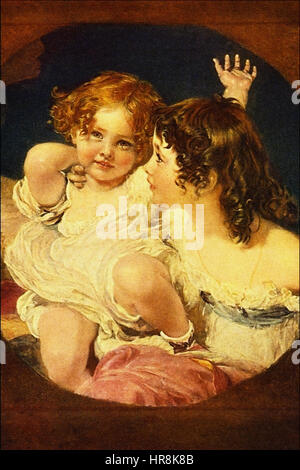 The Calmady Children - Sir Thomas Lawrence - Stock Photo