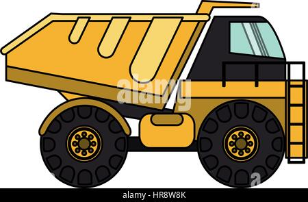 heavy construction machinery icon image  - Stock Photo
