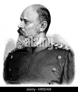 Charles, Karl Friedrich Alexander, Koenig von Wuerttemberg, 1823 - 1891, was King of Wuerttemberg, from 25 June - Stock Photo