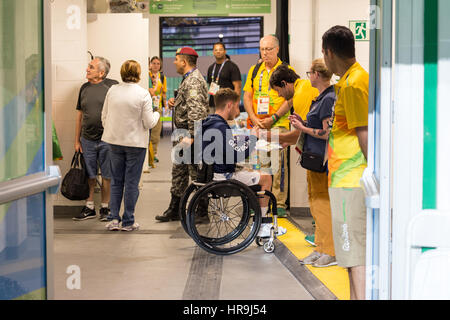 Rio 2016 Paralympic Games - - Stock Photo