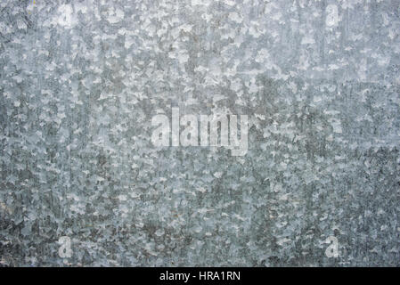 texture of galvanized sheet metal with small tsarapynamy - Stock Photo