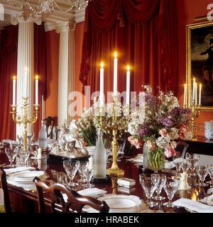 Georgian Dining Room Stock Photo Royalty Free Image 134838255