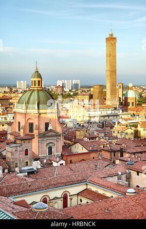 Skyline of Bologna, Italy - Stock Photo