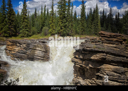 Maligne gorge jasper alberta canada stock photo for The canyons at falling water