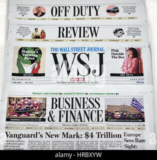 FRONT WSJ PAGE