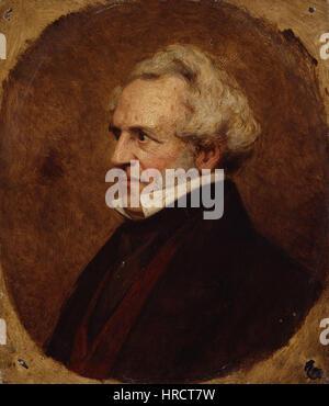 James Silk Buckingham by Clara S. Lane - Stock Photo