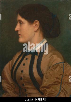 Edward John Poynter - Eliza Eastlake - Google Art Project - Stock Photo