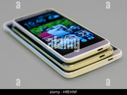 Smartphone Mobile Cell Phone different sizes - Stock Photo