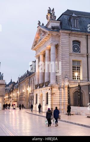 Palace of the Dukes of Burgundy, Place de la Liberation, Dijon, Burgundy, France - Stock Photo