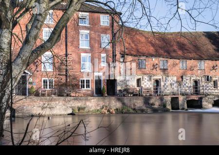 Old Mill Harnham, Salisbury, Wiltshire, England, UK - Stock Photo