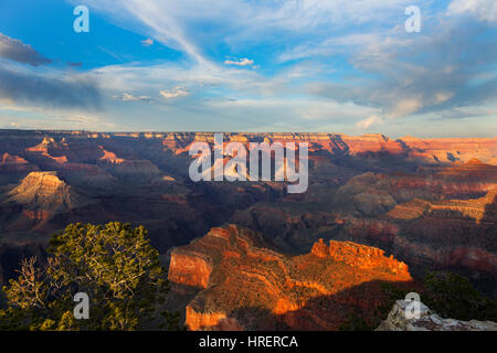 Powell Point, Grand Canyon National Park, Arizona - Stock Photo