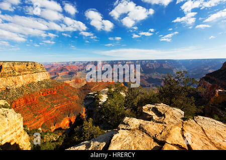 South Kaibab South Rim, Grand Canyon National Park, Arizona - Stock Photo