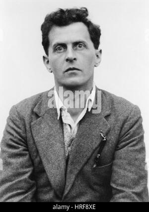 Ludwig Wittgenstein, Austrian Philosopher - Stock Photo