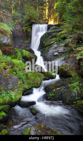 Waterfall, Triberg, Black Forest, Germany - Stock Photo