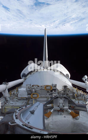 Space Shuttle Discovery - Stock Photo