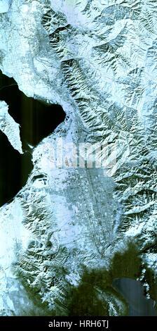 Salt Lake City, Utah, Winter 2001 - Stock Photo