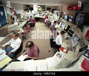 DZero control room - Stock Photo