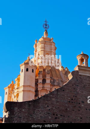 Detailed view of the Cathedral of Cordoba, Cordoba, Argentina - Stock Photo