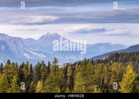 Parco Naturale Puez Odle in the Dolomites, South Tyrol, Italy - Stock Photo
