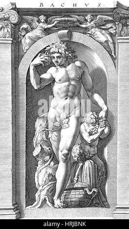 Bacchus, Roman God - Stock Photo