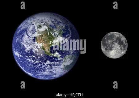 full size comparison of solar system planets Stock Photo ...