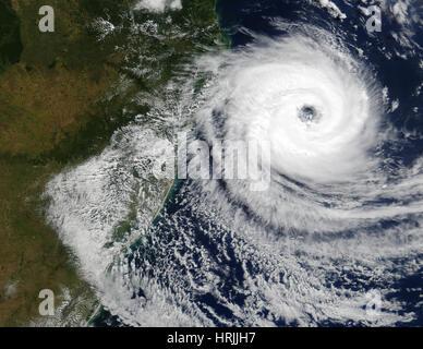 Tropical Cyclone Catarina, Brazil - Stock Photo