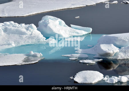 Arctic Ice, USCG Arctic Expedition, 2009 - Stock Photo