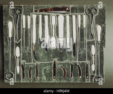 Surgical Instruments, 18th Century - Stock Photo