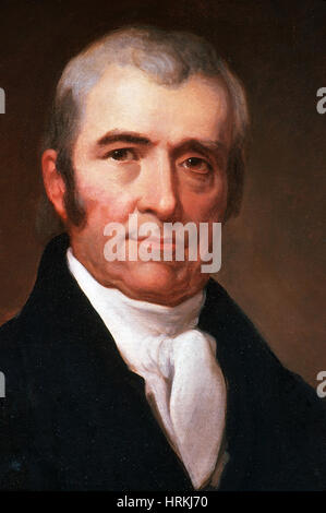 John Marshall, 4th Chief Justice, Supreme Court - Stock Photo