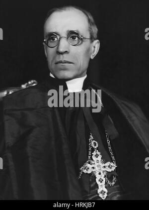 Pius XII, Roman Catholic Pope - Stock Photo