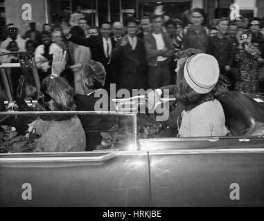 Kennedy Assassination, 1963 - Stock Photo