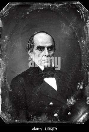 Daniel Webster, American Politician - Stock Photo