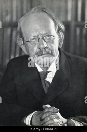 J.J. Thomson, English Physicist - Stock Photo