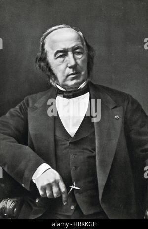 Claude Bernard, French Physiologist - Stock Photo