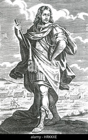 Xenophon of Athens, Ancient Greek Historian - Stock Photo