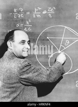 Enrico Fermi, Italian-American Physicist - Stock Photo