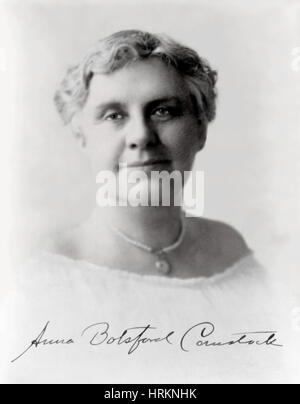 Anna Comstock, American Artist and Educator - Stock Photo